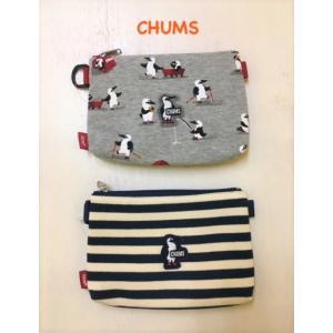 CHUMS / チャムス  Booby Wappen Mini Pouch Sweat ブービーワッペンミニポーチスウェット CH60-2922|kooka