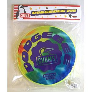 CHUMS / チャムス  Dodgebee 235 Tie Dye・ Tie Dye タイダイフライングディスク 23.5cm kooka