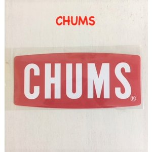 CHUMS / チャムス  Sticker Chums Logo Small チャムス ステッカーチャムスロゴスモール|kooka