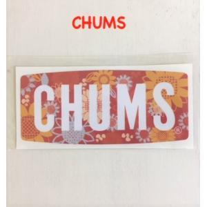 CHUMS / チャムス  Flower Logo Sticker  チャムス フラワーロゴステッカー kooka