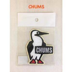 CHUMS / チャムス  Booby Wappen S ブービーワッペンS(ステッカー|ワッペン)|kooka