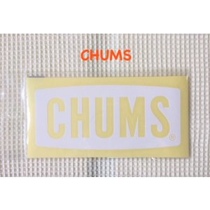 CHUMS / チャムス  Cutting Sheet CHUMS Logo M  カッティングシートチャムスロゴM(ステッカー|ワッペン)|kooka