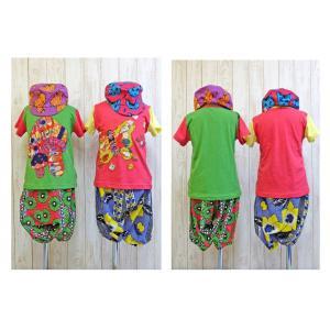 Aminacollection / アミナコレクション 子供服パッチワーク刺しゅうTシャツ キッズTシャツ 男の子&女の子|kooka