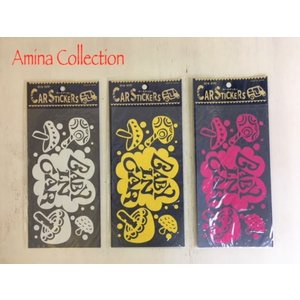 Aminacollection / アミナコレクション 子供服 『BABY IN CAR』 CARS STICKERS  ベビーインカー カーステッカー|kooka