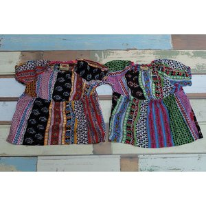 KICCOLY / キッコリー 子供服 キッズTシャツ エスニック花BDPT Tシャツ 100cm 130cm 女の子|kooka