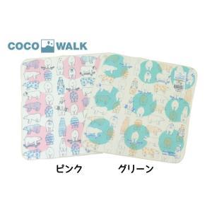 COCO WALK / ココウォーク タオルハンカチ Activeドットしろくま ベビー 男の子 女の子|kooka