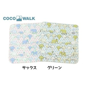 COCO WALK / ココウォーク タオルハンカチ エレファントドット ベビー 男の子 女の子|kooka