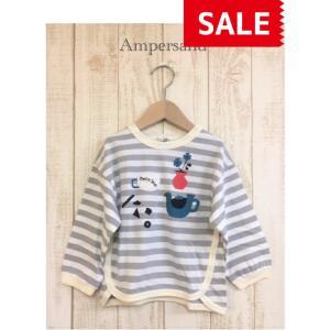 AMPERSAND / アンパサンド 子供服 Petit jam ボーダーTシャツ 女の子 2021SS|kooka