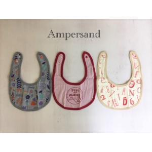 AMPERSAND / アンパサンド ベビー小物 GIRL'S 3Pセットスタイ プレゼント 出産祝い 女の子|kooka