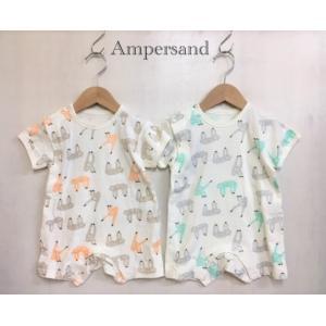 AMPERSAND / アンパサンド ベビー服 4色2柄ロンパス 女の子 男の子 BABY|kooka