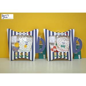 Petit jam / プチジャム ベビー小物  パッケージ付きスタイとミトンのセット 出産祝いギフト 女の子 男の子 2018SS|kooka