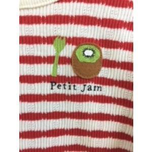 【SALE】Petit jam / プチジャム 子供服  ボーダー柄の長袖Tシャツ 女の子|kooka|02