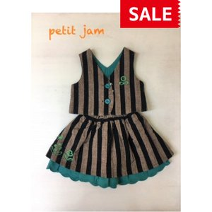Petit jam / プチジャム 子供服  3WAYスーツ リバーシブル  女の子|kooka