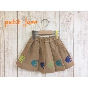Petit jam / プチジャム 子供服  いろんな向きではけるスカート  女の子 |kooka