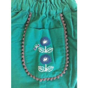 【SALE】Petit jam / プチジャム 子供服 ポケットお花刺繍パンツ 女の子 |kooka|02