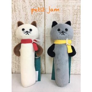 Petit jam / プチジャム 子供服ベビー小物 ネコのにぎにぎ 女の子&男の子 |kooka