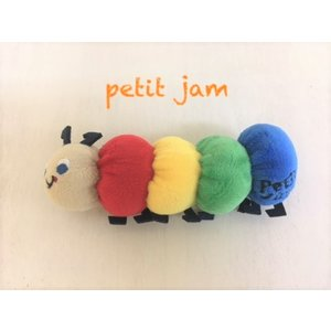 【SALE】Petit jam / プチジャム ベビー小物 いもむしくんラトル ベビーガラガラ  女の子&男の子 |kooka