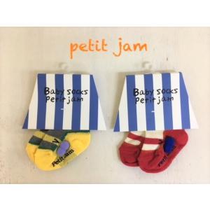 Petit jam / プチジャム 子供服ベビー小物 ベビーソックス7cm〜9cm  女の子&男の子 |kooka