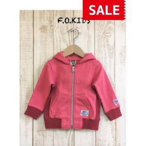 【SALE】【30%OFF】F.O.KIDS / エフオーキッズ 子供服 キッズパーカー ジップアップパーカー 男の子 女の子 SS|kooka