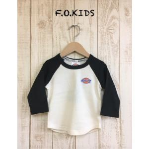 F.O.KIDS / エフオーキッズ 子供服  Dickies(ディッキーズ) ラグラン長袖Tシャツ 男の子 女の子|kooka