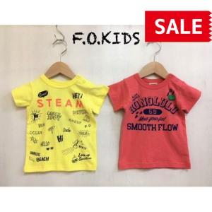【SALE】【50%OFF】F.O.KIDS / エフオーキッズ 子供服 キッズTシャツ 4色4柄Tシャツ 男の子 女の子 SS|kooka