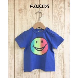 F.O.KIDS / エフオーキッズ 子供服 キッズTシャツ FOスマイルプリントTシャツ 男の子&女の子|kooka
