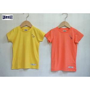 F.O.KIDS / エフオーキッズ 子供服 ワンポイントTシャツ カラー半袖Tシャツ 男の子 女の子 2018SS kooka
