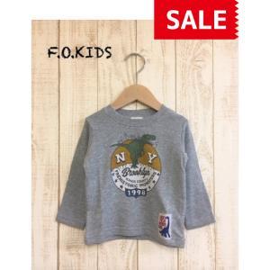 【SALE】【50%OFF】F.O.KIDS / エフオーキッズ 子供服 4色2柄Tシャツ 恐竜 男の子 FW|kooka