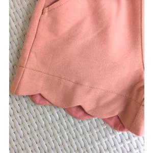 Seraph / セラフ 子供服  裾スカラップショートパンツ 女の子|kooka|03