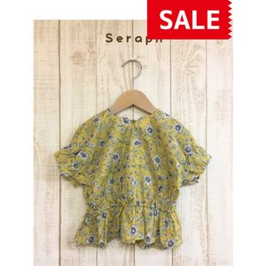 【SALE】【50%OFF】Seraph / セラフ 子供服  オリエンタル柄チュニック 女の子   SS|kooka