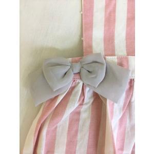 【SALE】Seraph / セラフ 子供服  ストライプリボンエプロンドレス  女の子|kooka|05