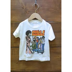 SoulsmaniaKids / ソウルズマニアキッズ 子供服 キッズTシャツ  SOULSMANIAX  半袖Tシャツ  男の子&女の子|kooka