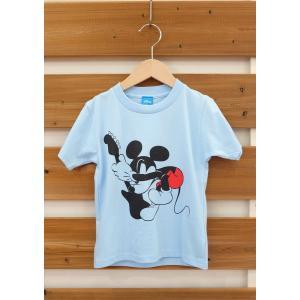 SoulsmaniaKids / ソウルズマニアキッズ 子供服 キッズTシャツ OLD MICKEY  ミッキーマウスプリントTシャツ  男の子&女の子|kooka