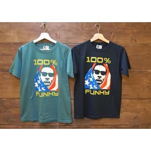 Soulsmania / ソウルズマニア メンズ 半袖Tシャツ 100%FUNKY  プリントTシャツ |kooka