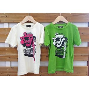 SoulsmaniaKids / ソウルズマニアキッズ 子供服 キッズTシャツ SUPER FUNKY スプリントTシャツ  男の子&女の子|kooka