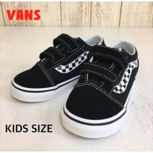 VANS/バンズ 子供靴 キッズスニーカー OLD SCHOOL V SIDESTRIPE V BLACK/TRUE WHITE 男の子&女の子|kooka