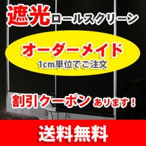 遮光防炎ロールスクリーン ロールカーテン ベン(1級遮光)(防炎-海外仕様) RS042-bofr-...