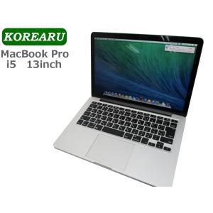 中古ノートパソコン  メーカー : Apple 商品名 : MacBook Pro 2013(A15...