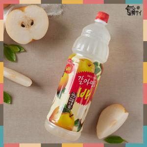 ★韓国食品/お飲み物★ヘテ すりおろし梨ジュース 1500mlペットボトル