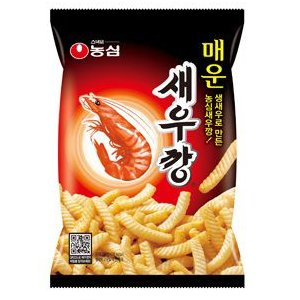 韓国食材/韓国お菓子★農心 辛口 セウカン(エビセン) 90g