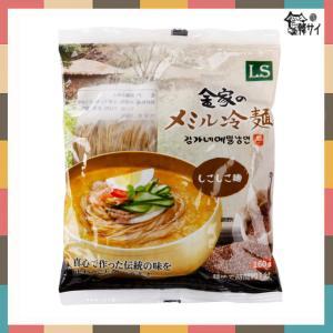 ★新商品★金家 メミル(そば)水冷麺 麺(160g)★韓国食品市場★韓国食材/韓国料理/冷麺/麺/金家 koreasuper