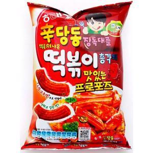 ★韓国お菓子★ヘテ 辛ダンドン トッポギ スナック 75g