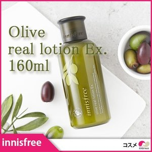 innisfree Olive real lotion 160ml イニスフリー オリーブ リアル ローション 乳液 コスメ 化粧品 美容|koreatrade