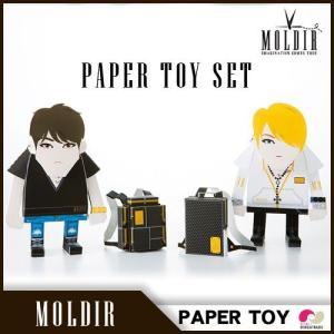 お買い得セット 国内発送 日本公式販売 MOLDIR  Paper Toy SET【数量限定】 ◆ JYJ ジェジュン MOMOTO koreatrade