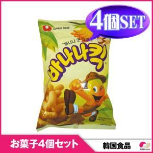 【韓国お菓子4個セット】【農心】バナナ-キック 4個セット snack|koreatrade