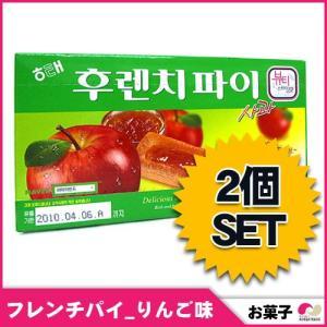 【韓国お菓子2セット】【HAITAI、ヘテ】 フレンチパイ 「りんご味」(15個入り)x2セット 192g snack韓国商品・韓国食材・韓国お土産・韓国お菓子・お菓子|koreatrade