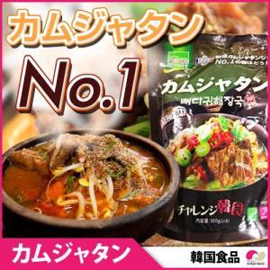 【韓国食品】 カムジャタン (カムジャタン シェア No.1)500g!韓国スープ カムジャタン 即席食品 レトルト食品 インスタント非常食|koreatrade