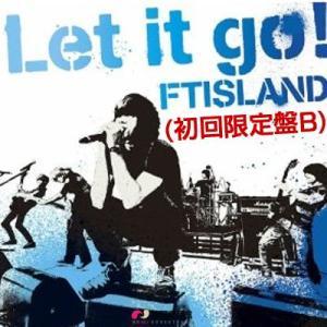 【日本盤CD】日本版初回限定盤B★FTIsland Let It Go ★f.t island 5rd single let it go・FT ISLAND - LET IT GO (SINGLE VOL.5) (FTアイランド) ホンギ|koreatrade
