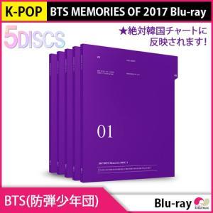 送料無料 1次予約限定価格 BTS ( 防弾少年団 ) - [BTS MEMORIES OF 2017] Blu-ray + フォートカード (ディスク5枚) 8月24日発売 8月31日発送 ブルーレイ 5DISCS