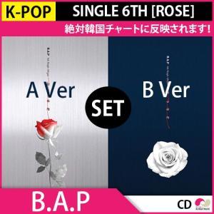 2次予約限定価格 B.A.P SINGLE 6TH [ROSE]★A,B Ver SET!★シングルアルバム6集 韓国音盤 KPOP 3.8発売 4月初発送|koreatrade